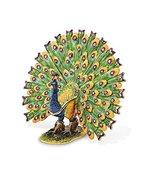 Bejeweled Pewter Proud Peacock Trinket Box - $65.57