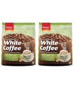 SUPER Charcoal White Coffee 3 In 1 Roasted Hazelnut Instant 15's-10 Pack... - $138.90