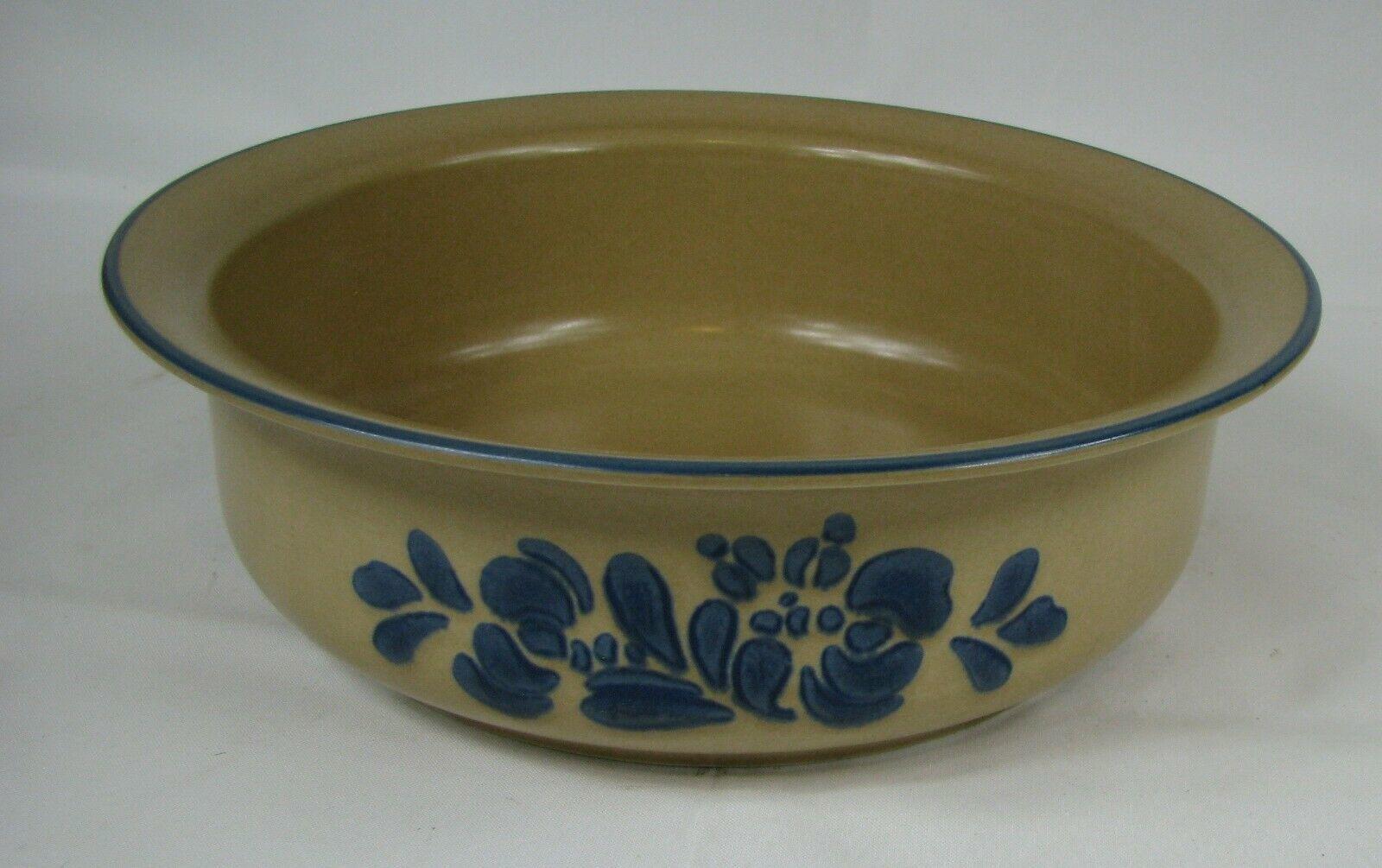 "Pfaltzgraff FOLK ART Round 9.5"" Baker USA Oven & Microwave Dish Bowl Pottery - $12.86"