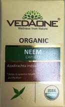 Vedaone Organic Neem 60 Caplets Capsules Organic - $10.00