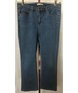 Lee Women's Slender Secret Flap Pocket Bootcut Blue Jeans Size 12 (32 x 30) - $13.95
