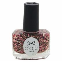 Ciate London Mini Gelology Nail Polish Paint Rosebush Specks .17 Oz - NEW - $0.98