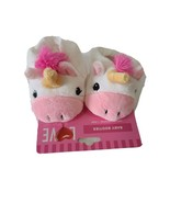 Walgreens Love White and Pink Baby Unicorn Booties 0-6 Months - $9.41