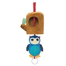 Manhattan Toy Lullaby Owl Pull Musical Crib and Baby Toy - $15.06