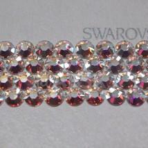 Swarovski Crystal Clear AB 2038 /2078 flatback Hotfix w Glue Iron On rhinestones - $6.08+