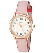 Timex TW2R62800 Women's Easy Reader Leather Strap Watch - $45.86