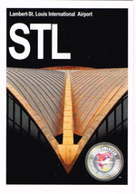STL Collectible Airport Trading Card Lambert-St. Louis International Night - $3.00
