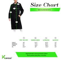 Women's Long Casual Maxi Length Denim Cotton Coat Oversize Button Up Jean Jacket image 2