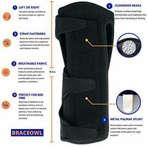 Carpal Tunnel Wrist Brace, Night Sleep Wrist Splint for Both Right Hand and Left image 4