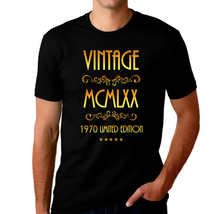 50th Birthday Shirt for Men - Vintage 1970 T-Shirt - 50th Birthday Ideas... - $14.99+