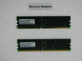 X9253A 4GB  (2x2GB) 184pin PC2700 DDR Memory for Sun Fire V20z V40z - $23.75