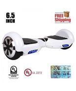 2017 Classic White Hoverboard Two Wheel Balance Scooter w/ Free Fast Shi... - ₨12,123.44 INR