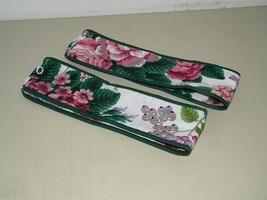 Waverly FLoral Drapery Panel Curtain Tie Back Set of 2 17406 - $16.24