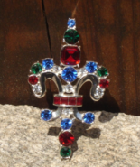 Vintage Trifari Fleur de Lis Brooch, 1997 Limited Edition - $88.00