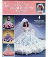 Beaded Pineapple Gowns for Barbie Dolls Crochet Pattern Leaflet by Mary ... - $8.97
