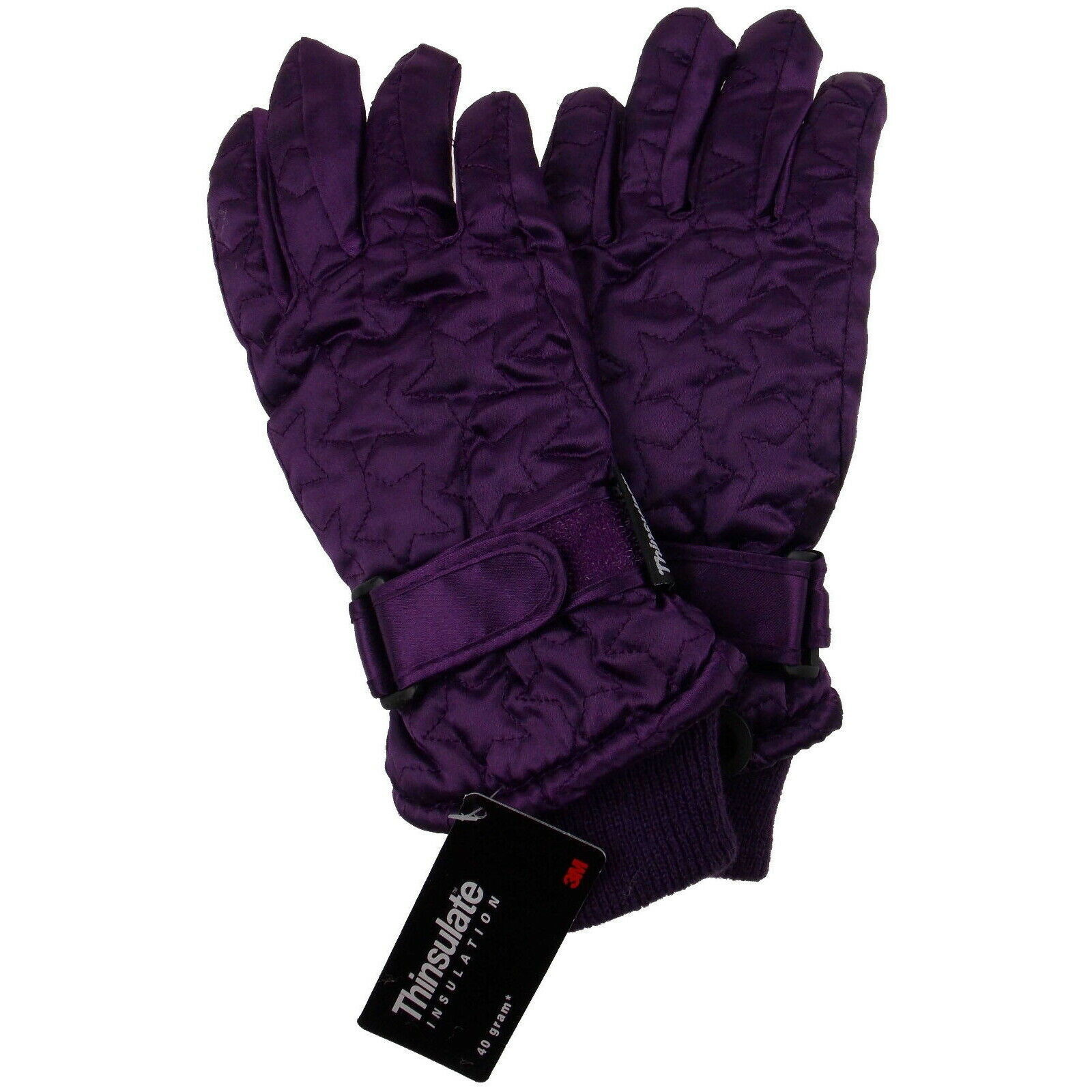 Primary image for Joe Boxer Girls Quilted Winter Gloves 3M 40g Thinsulate Snow Ski Hiking Warm NEW