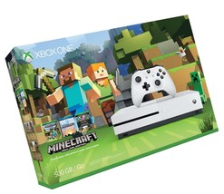 Xbox One S 500GB Console - Minecraft Bundle [Discontinued] - $341.98