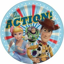 Toy Story 4 Takin' Action Lunch Plates Birthday Party Supplies 8 Per Pac... - $3.90