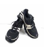 Nike Shox Men's Sneakers black Silver Turbo 316872-001 Running Athletic ... - $59.22