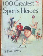 Vintage 100 Greatest Sports Heroes Book - $3.60