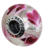 AUTHENTIC PANDORA Wild Hearts Charm, 791649 - $28.01