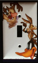 Looney Tunes tasmanian devil daffy duck Light Switch outlet cover plate decor image 1