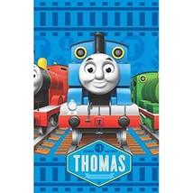 American Greetings Thomas & Friends Plastic Table Cover, 54 x 96 - $13.10