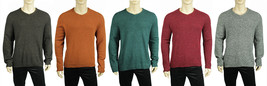 New Mens Tasso Elba Crew Neck Lamswool Blend Pullover Sweater $89 - $19.99