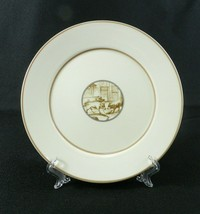 """Mary Carol Home Collection Small Plate 7.5"""" Ivory Tan Pigs 2007 - $11.87"""