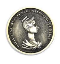 Maria Anna Augusta Ferdinandi Medal Coronation 46mm  - $9.89