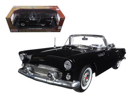 "1956 Ford Thunderbird Black ""Timeless Classics\"" 1/18 Diecast Model Car by Moto - $57.17"