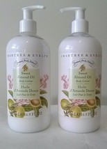 Crabtree & Evelyn SWEET ALMOND OIL Body Lotion Drawn from Nature 16.9oz ... - $27.70