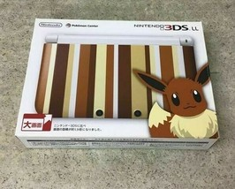 Sale Nintendo 3DS Ll Xl Japan Model Console Pokemon Center Eevee Limited Model - $247.50