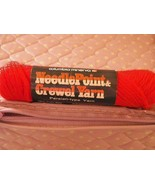 Columbia Minerva 1 skeins 1/2  oz yarn fire ball color (1 available) - $0.98