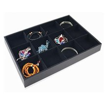 George Jimmy 12 Grid Necklaces Display Stand Jewelry Tray Earring Bracelet Displ - $31.31