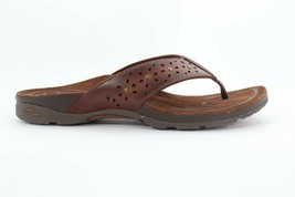 Abeo Abbie Slides Brown Women's Size 6 Neutral Footbed () - $112.86