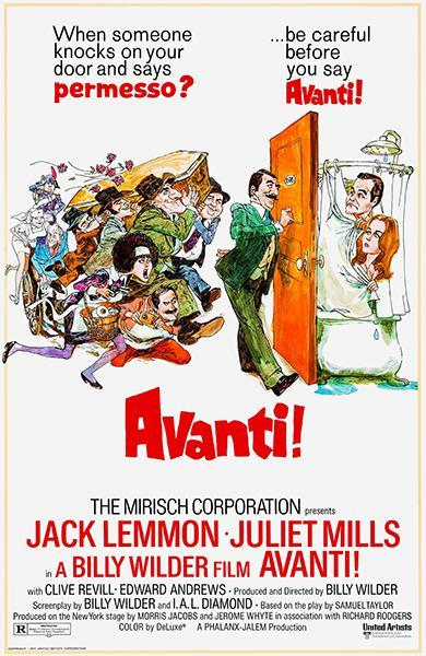 Primary image for Avanti! - 1972 - Movie Poster