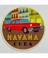 "4 Cuban Themed 4"" Round Bar Drink Coasters - $8.00"