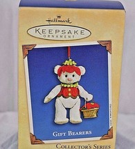 Hallmark Keepsake Ornament 2002 Gift Bears Porcelain Jointed Bear # 4 In... - $9.99