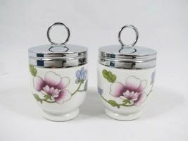 Royal Worcester Astley Flameproof Porcelain Egg Coddler Set England - $22.76