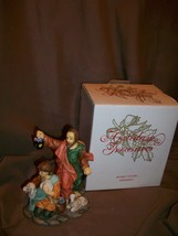 AVON HOLIDAY TREASURES 2002 CHRISTMAS NATIVITY BLESSED VISITORS SHEPHERDS - $19.79