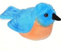 Eastern Bluebird Toy Plush Stuffed Animal - $9.95