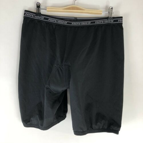 Primary image for Men's NOVARA Black Padded Bike Cycling LINER Shorts - L