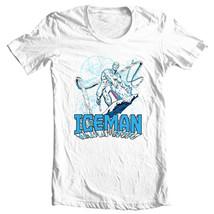 ICEMAN T-shirt retro marvel comics Spider-man and his amazing friends tee shirt image 1