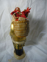 Vaillancourt Folk Art Santa Delivery Golden Gifts Personally Signed by Judi image 4