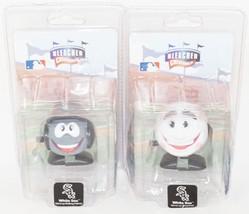 2 Lot Chicago White Sox - Mlb WIND-UP Baseball & Team Helmet Bleacher Creatures - $6.88