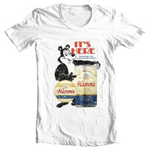 Hamms Beer T-shirt Bear retro vintage style distressed print cotton graphic tee image 2