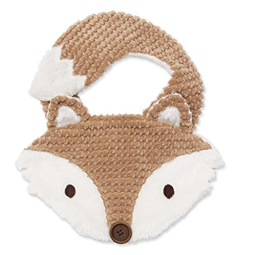 Primary image for Mud Pie Baby Boys Forest Friends Chenille Dimensional Fox Feeding Bib