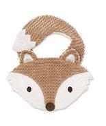 Mud Pie Baby Boys Forest Friends Chenille Dimensional Fox Feeding Bib - $14.21