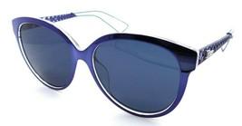 Christian Dior Sunglasses Diorama 2 TGVKU 56-16-145 Blue Crystal / Blue Italy - $235.20